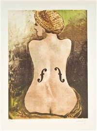 le violon d'ingres by man ray