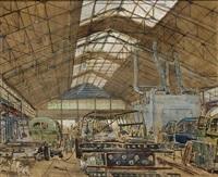 coachwork factory, van doornes aanhangwagenfabriek(?) by bart peizel