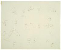 bad dog (dog study) by william wegman