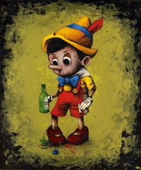 pinocchio by dran