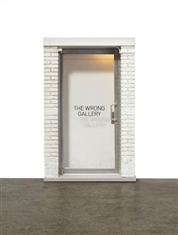 the 1:6 wrong gallery by maurizio cattelan