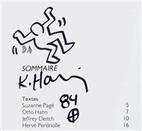 dancer by keith haring