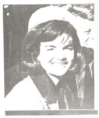 jacqueline kennedy (jackie i) (from 11 pop artists i) by andy warhol