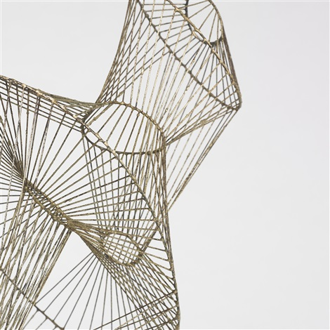 untitled wire form by harry bertoia