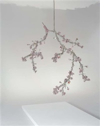 unique large blossom chandelier by tord boontje