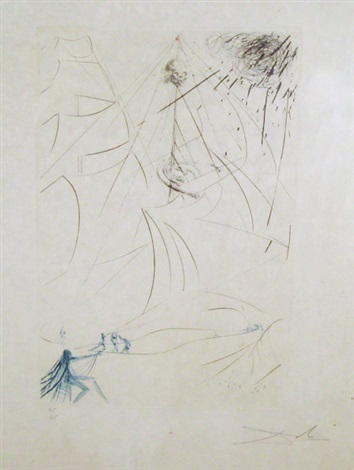 composition by salvador dalí