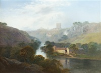 knaresborough by george blackie sticks
