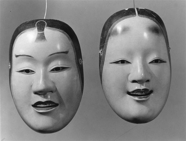 kasshiki und hanjo japanische no masken von albert renger. Black Bedroom Furniture Sets. Home Design Ideas