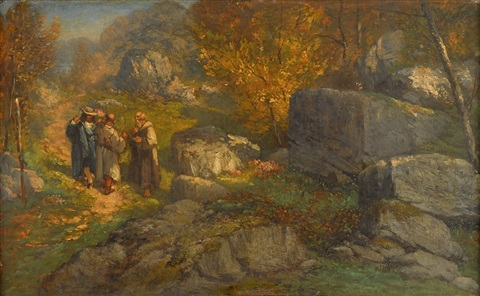 artwork by gustave courbet