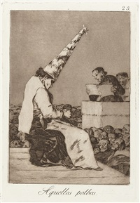 los caprichos (set of 80) by francisco de goya
