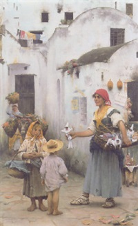the toy seller by horace fisher