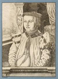 bildnis der frau von eckh (frau des oswald von eckh) by hans sebald lautensack