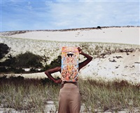 untitled (cape) by xaviera simmons