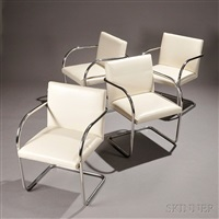mies van der rohe brno chairs (4 works) by ludwig mies van der rohe