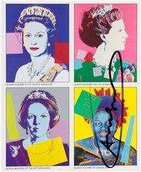 reigning queens by andy warhol