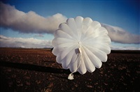 parachute in iceland (south) by gabriel orozco