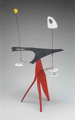 black palette red spike by alexander calder