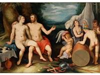 venus und mars by cornelis cornelisz van haarlem