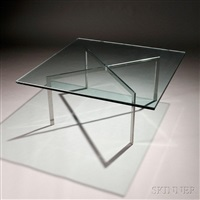 barcelona coffee table by ludwig mies van der rohe