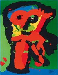 dancing boy by karel appel