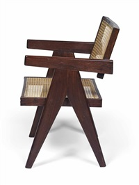 conférence armchair by pierre jeanneret