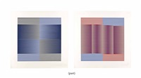 induction chromatique (set of 6) by carlos cruz-diez