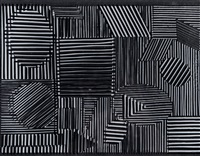 objet cinetique (in 2 parts) by victor vasarely