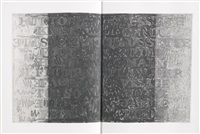 foirades/fizzles (bk w/31 works) by jasper johns