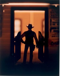 sans titre, de la série wild west by david levinthal