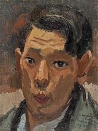 autoportrait by takanori oguiss