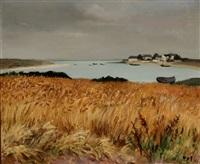 champe de blé by marcel dyf