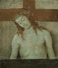 christ as the man of sorrows by filippo (filippino) lippi