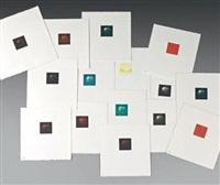 cerises californiennes (set of 15) by yozo hamaguchi