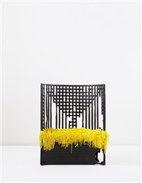 unique chair (from the where there's smoke series) by maarten baas