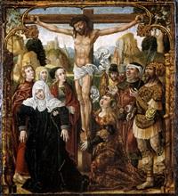 die kreuzigung christi by german school-augsburg (16)