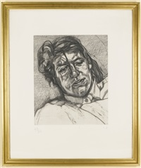 bella (h. 30) by lucian freud