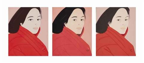 brisk day i ii iii 3 works by alex katz