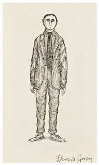 portrait of a young man by edward gorey