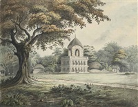 a hindu temple at barripore, near calcutta by hubert cornish