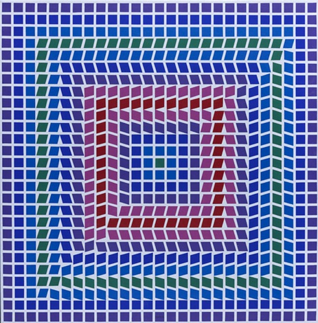t ceti mc n° p 998 by victor vasarely