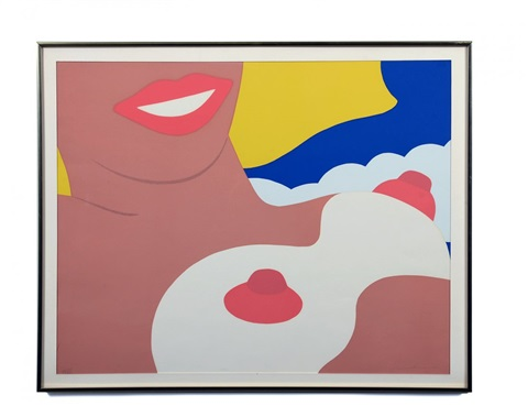 nude by tom wesselmann