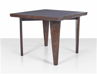 square table by pierre jeanneret