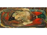 a still life study of a dead mallard by sven berlin