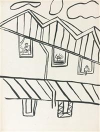illustration - la ville (la ruche) by fernand léger
