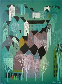 village by eyvind earle