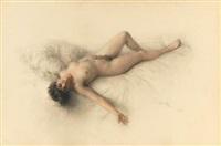 reclining nude by mikhail rundaltsov