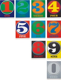 numbers (set of 10_ by robert indiana