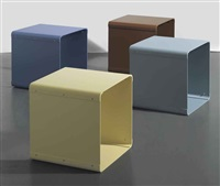 stools (4 works) by liam gillick