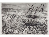 zeno landscape ii by william kentridge