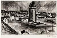la tour solidor by bernard buffet